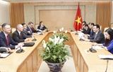Hợp tác kinh tế là một trọng tâm của quan hệ Việt Nam-Hoa Kỳ