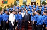 Чан Дай Куанг встретился с лучшими молодыми представителями центральных органов