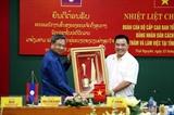 Đoàn cấp cao Đảng nhân dân cách mạng Lào thăm tỉnh Thái Nguyên