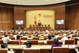 Quốc hội thảo luận các vấn đề về kinh tế-xã hội