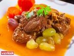 葡萄焖羊肉