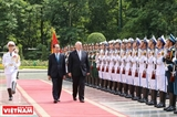Vietnam Australia pledge to deepen strategic partnership ties