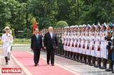 Phát triển mạnh mẽ quan hệ đối tác chiến lược Việt Nam-Australia.