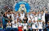 Real Madrid lần thứ ba liên tiếp vô địch Champions League
