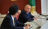 Lãnh đạo Nga Nhật Bản nhất trí hướng tới hiệp định hòa bình