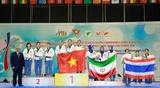 Вьетнам выиграл две золотые медали на Чемпионате Азии по тхэквондо