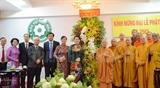 Руководители Вьетнама поздравили буддийских монахов и буддистов с Великим буддийским праздником