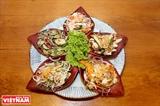 La salade à cinq couleurs du Nam Bo
