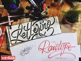 Vẽ chữ nghệ thuật  - xu hướng mới thu hút giới trẻ