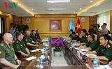 Вьетнам и Россия повышают эффективность координации действий в сфере миротворчества