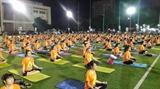 ສະເຫຼີມສະຫຼອງ ວັນ Yoga ສາກົນ ຄັ້ງທີ 4