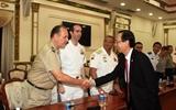 Lãnh đạo Tp. Hồ Chí Minh tiếp đoàn tùy viên quân sự các nước tại Việt Nam
