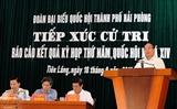 Премьер-министр Вьетнама и его заместитель встретились с избирателями