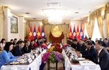 Phó Chủ tịch nước Đặng Thị Ngọc Thịnh thăm chính thức CHDCND Lào