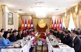 Вице-президент Вьетнама Данг Тхи Нгок Тхинь находится в Лаосе с визитом