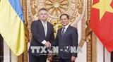 Вьетнам и Украина желают и в дальнейшем развивать двусторонние отношения