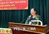 Вице-спикер парламента СРВ Тонг Тхи Фонг встретилась с избирателями провинции Шонла