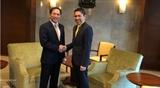 Thứ trưởng Bộ Ngoại giao Bùi Thanh Sơn thăm làm việc Singapore Ấn Độ
