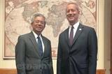 Việt Nam Hoa Kỳ thảo luận biện pháp tăng quan hệ giữa hai Quốc hội