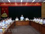 Tổng Bí thư làm việc với Ban Cán sự Đảng Bộ Công Thương