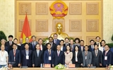 Премьер Вьетнама встретился с участниками Форума по 4-й промышленой революции на высоком уровне