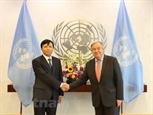 Tổng Thư ký LHQ Antonio Guterres đánh giá cao sự hợp tác của Việt Nam
