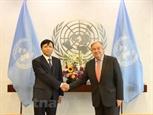 Tổng Thư ký LHQ Antonio Guterres đánh giá cao sự hợp tác của Việt Nam