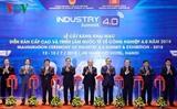 Нгуен Суан Фук принял участие в форуме и международной выставке посвящённой Индустрии 4.0