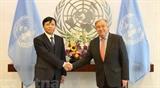 Генеральный секретарь ООН высоко оценивает сотрудничество Вьетнама
