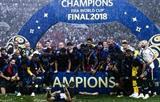 ЧМ по футболу в России завершился победой сборной Франции и несколькими рекордами