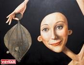 Выставка вьетнамско-французского художественного обмена