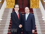 Thủ tướng tiếp Chủ tịch Tổ chức Xúc tiến thương mại Nhật Bản