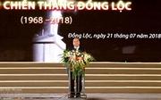 Премьер СРВ Нгуен Суан Фук принял участие в праздновании 50-летия победы на перекрёстке Донглок
