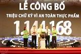 В Ханое обнародован миллион подписей за безопасность продуктов питания