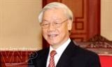 អគ្គលេខាបក្សវៀតណាមលោក Nguyen Phu Trong ផ្ញើរសារទូរលេខអបអរសាទរជូនចំពោះគណៈបក្សប្រជាជនកម្ពជា