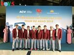 Состоялась церемония проводов сборной Вьетнама по плаванию гимнастике и стрелковому спорту на ASIAD