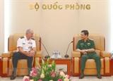 Thượng tướng Phan Văn Giang tiếp Tư lệnh Bộ Tư lệnh Lục quân Thái Bình Dương Hoa Kỳ