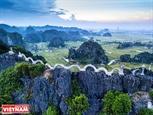 Du khách quốc tế ca ngợi vẻ đẹp Hang Múa ở Ninh Bình