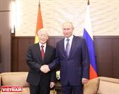 ベトナム‐ロシア間の戦略的なパートナーシップの新たな発展