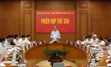 Президент Вьетнама председательствовал на 6-й сессии Центрального руководящего комитета по судебной реформе