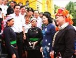 Вице-президент Вьетнама приняла делегацию провинции Лаокай