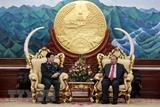 Thượng tướng Lương Cường thăm chính thức Lào