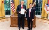 ທ່ານປະທານາທິບໍດີ Donald Trump ຕີລາຄາສູງບາດກ້າວພັດທະນາໃນການພົວພັນຄູ່ຮ່ວມມືຮອບດ້ານລະຫວ່າງ ຫວຽດນາມ - ອາເມລິກາ