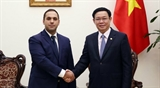 Вице-премьер Вьетнама принял Министра экономики Болгарии