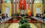 Президент Вьетнама Чан Дай Куанг принял участников 14-го съезда ASOSAI