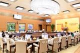 В Ханое продолжается 27-е заседание Постоянного комимета Нацсобрания Вьетнама
