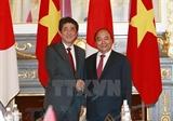 Поздравительные письма по случаю годовщины установления дипотношений между Вьетнамом и Японией