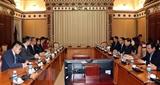 Đẩy mạnh hợp tác giữa Thành phố Hồ Chí Minh và Hong Kong