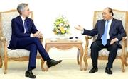 Премьер Вьетнама Нгуен Суан Фук принял главу немецкой корпорации SAP