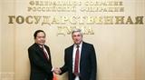Укрепление отношений всеобъемлющего стратегического партнерства между Вьетнамом и Россией